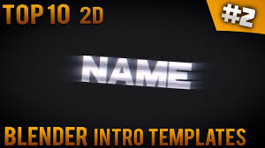 2d intro templates for blender top 10 blender 2d intro templates 2 free download introfactory