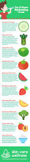 top 10 super hydrating foods infographic