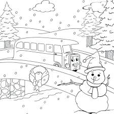 coloring pages winter coloring pages free printable free winter