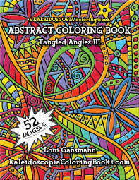 tangled coloring book tangled angles 3 an abstract coloring book