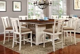 sabrina white counter dining set andrew u0027s furniture and mattress