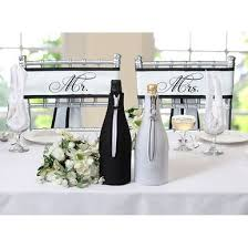 chair sashes for weddings mr and mrs wedding reception chair sashes weddings