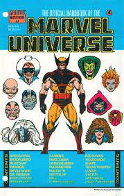 Marvel Universe Map Official Handbook Of The Marvel Universe Master Edition Vol 1 4