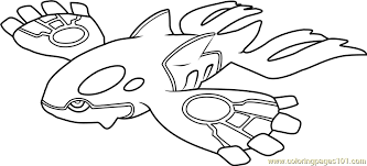 pokemon kyogre coloring pages printable images pokemon images