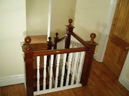 Banisters Decor U0026 Tips Cool Hardwood Banisters Design With Newel And