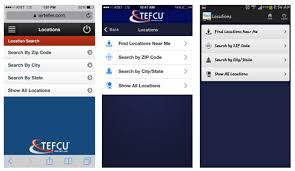 state employees credit union app for android transit employees federal credit union tefcu e mobile guide