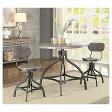 Acme Furniture Dining Room Set Acme Furniture Dining Table Set Oak Metal Target