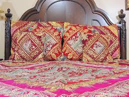 indian inspired home decor designer india inspired bedding ensemble home decor sari duvet 7p