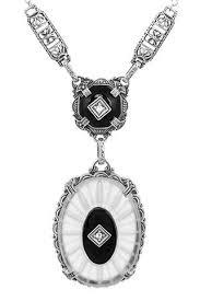 antique necklace pendants images Vintage necklaces antique pendants antique jewelry mall jpg