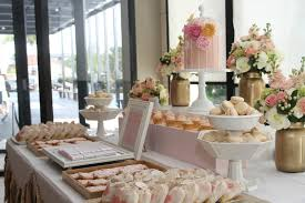 Pink And Gold Dessert Table by Marsala Wedding Decor If You Would Like A Little Polkadot To