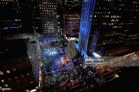 84th rockefeller center tree lighting photos and images