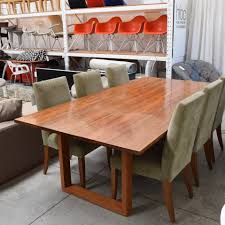 slab dining table by planet furniture home furniture on consignment