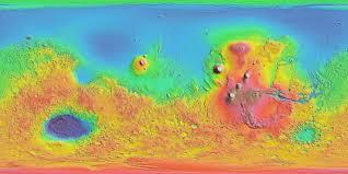 Data Map Interactive Mars Data Maps
