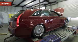 hennessey cadillac cts v wagon hennessey tuned cadillac cts v wagon with 1 000 rwhp dyno tested