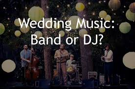 wedding band or dj should you a dj or live band for your wedding tailored fit