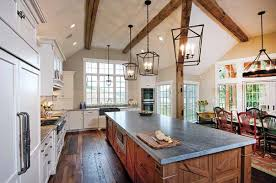 joanna gaines farmhouse kitchen with cabinets modern farmhouse trend rojahn custom cabinetry