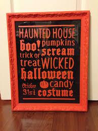 word art for halloween done with cricut halloween u0026 fall