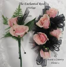 wrist corsage prices enchanted package wrist corsage and boutonniere in hesperia