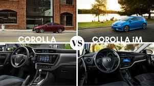 toyota yaris vs corolla comparison 2017 toyota corolla vs 2017 toyota corolla im
