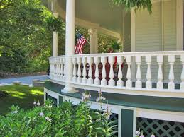 curved porch railing the ultimate in exterior architectural