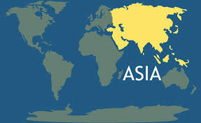 map world asia asia continent the 7 continents of the world