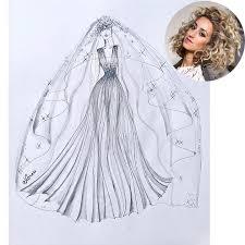 five canadian designers create their dream wedding dresses for