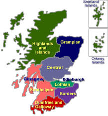 map of scotland and map of scotland province regional travel wish list