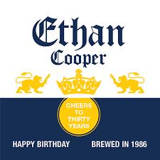 corona extra birthday beer label icustomlabel