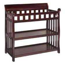 Cherry Wood Baby Changing Table Eclipse Changing Table In Espresso Cherry Per Your Baby At Kmart