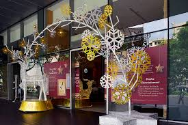 Commercial Christmas Decorations Perth by X U0027mas Decoration At Entrance In Shopping Mall Decorative