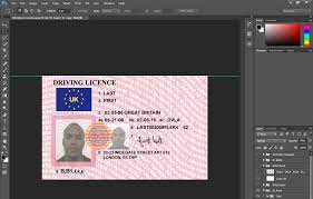 uk drivers license psd template projects to try pinterest