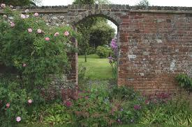 impressive brick wall garden garden brick wall ideas alices garden