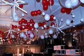 New Year Balloon Decor by Holiday Decorations Balloon Ceiling Decor