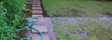 draining excess water from a lawn photo on amusing garden drainage