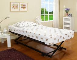 Trundle Bed Frame And Mattress Marvelous Single Trundle Frame Only Metalhite Daybedith And