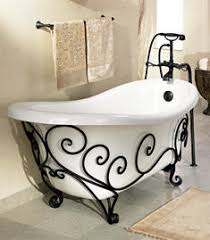 Wrought Iron Bathroom Furniture Orleans Wrought Iron Tub From St Creations