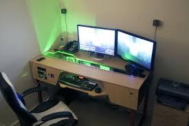 living room elegant superb build computer desk diy corner hutch
