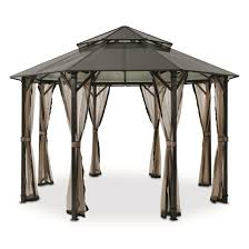 Discount Gazebos by Castlecreek Gazebo With Screens 657831 Gazebos At Sportsman U0027s Guide