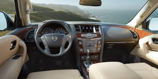 nissan armada interior pictures design