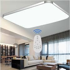 Wohnzimmer Decken Lampen Sailun 48w Dimmbar Led Modern Deckenleuchte Deckenlampe Flur