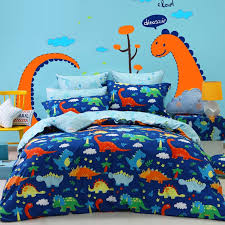 Navy And Yellow Bedding Navy Blue Orange Green And Yellow Dinosaur Print Jungle Animal