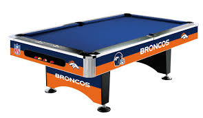 Logo Table Cloth by Denver Broncos Pool Table