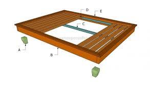 bed frame diy wood bed frame plans queen bed frame diy wood bed