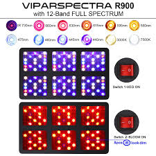amazon com viparspectra reflector series 900w led grow light