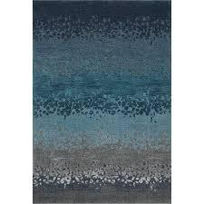 5 x 8 medium ombre blue u0026 gray area rug geneva rc willey
