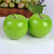 large artificial green apples large artificial green