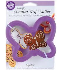 wilton comfort grip cookie cutter butterfly joann