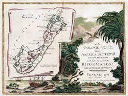 Map Of Bermuda Caribbean Bermuda
