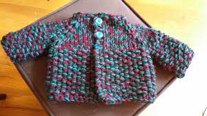 knitting pattern baby sweater chunky yarn chemknits test knit speedy vintage baby jacket