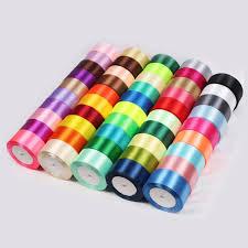 sided ribbon haosihui 1 1 2 39mm 32colors 25yards lot wedding satin ribbon